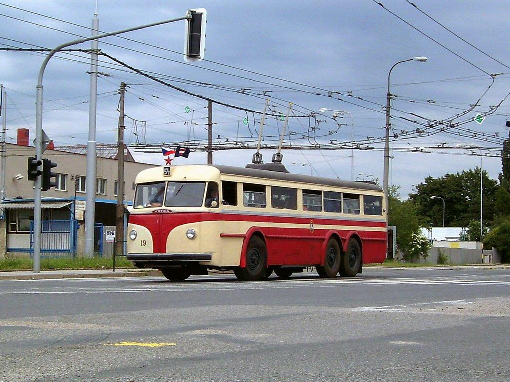 Fotogalerie » Tatra T400 19 | Brno | Slatina | Hviezdoslavova