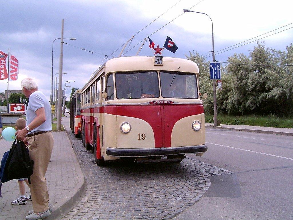 Fotogalerie » Tatra T400 19 | Brno | Slatina | Hviezdoslavova | Vozovna Slatina