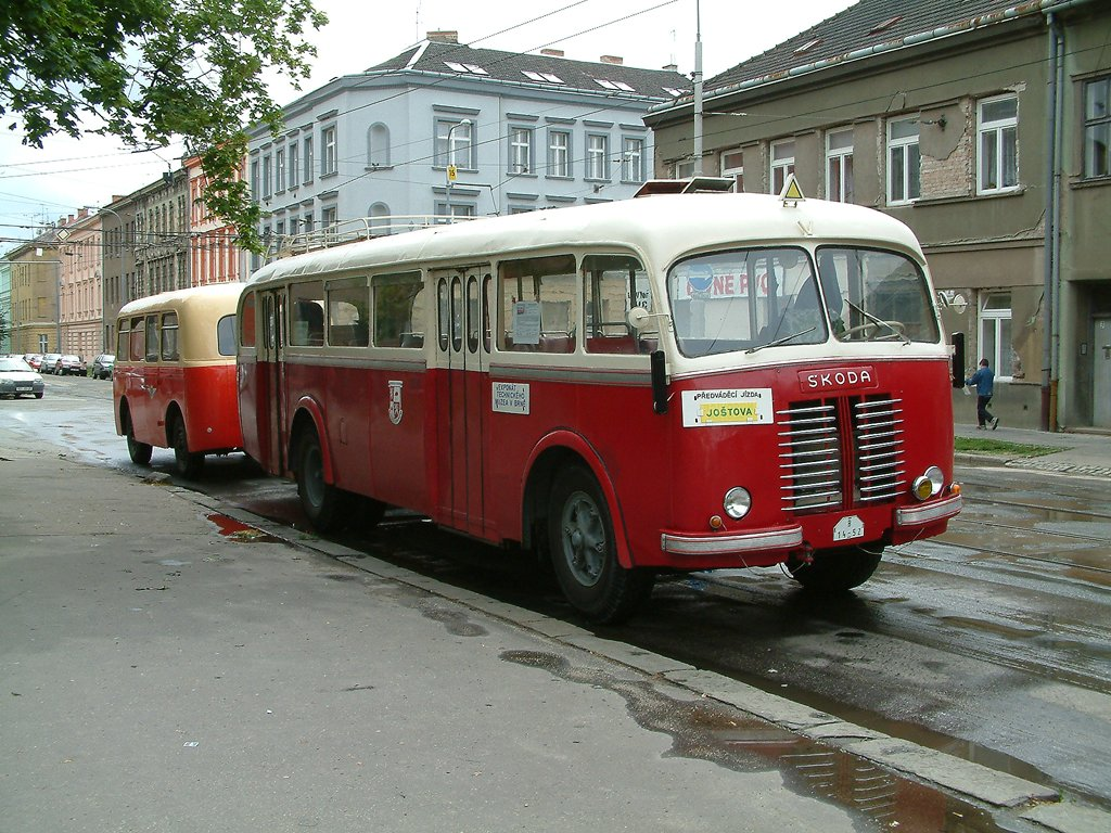 Fotogalerie » Škoda Škoda 706 RO 22 | Brno | Husovice | Nováčkova