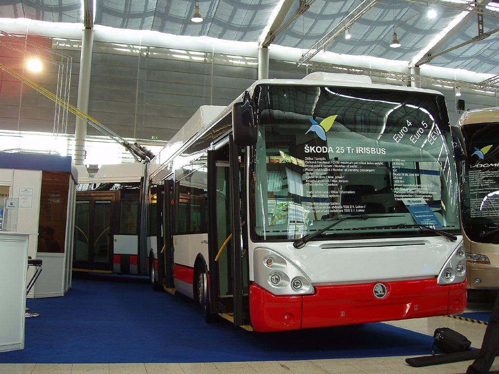 Fotogalerie » Škoda Škoda 25Tr Irisbus 6702 | Brno | Výstaviště BVV