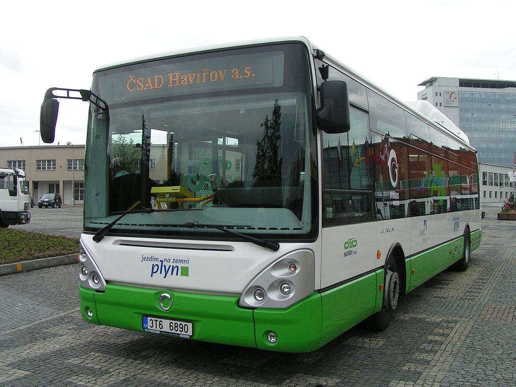 Fotogalerie » Irisbus Citelis 12M CNG   Brno   Výstaviště BVV