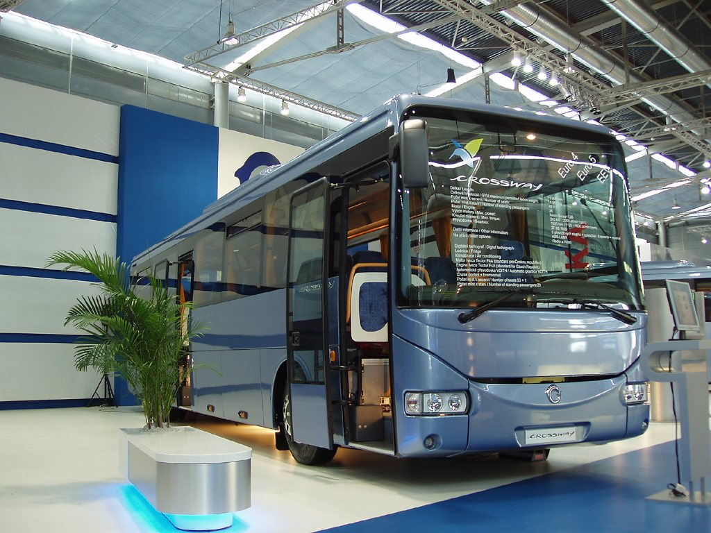 Fotogalerie » Irisbus Crossway 12M | Brno | Výstaviště BVV
