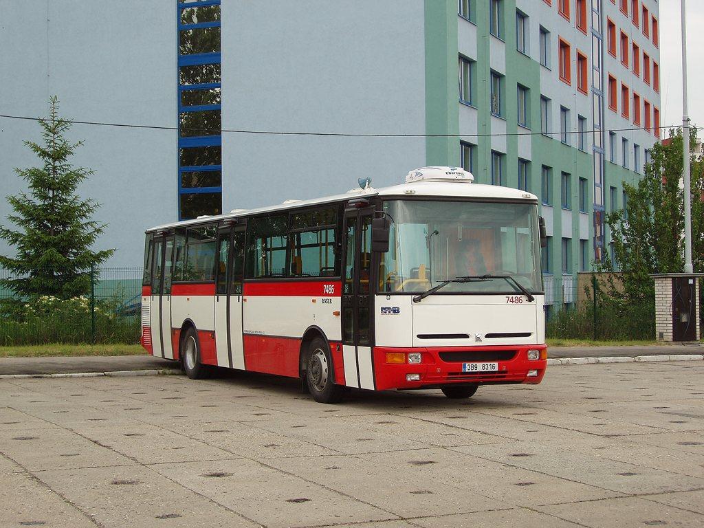 Fotogalerie » Karosa B951E.1713 7486 | Brno | vozovna Medlánky