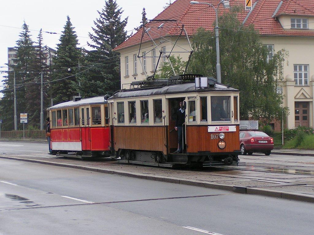 Fotogalerie » KPS Brno mv6.3 107 | Ringhoffer vv2.ringh 215 | Brno | Královo Pole | Palackého