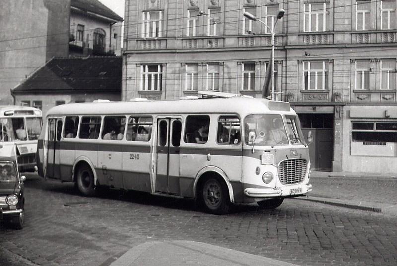 Fotogalerie » Škoda 706 RTO MTZ BZ 58-49 2243 | Brno | Trnitá | Křenová