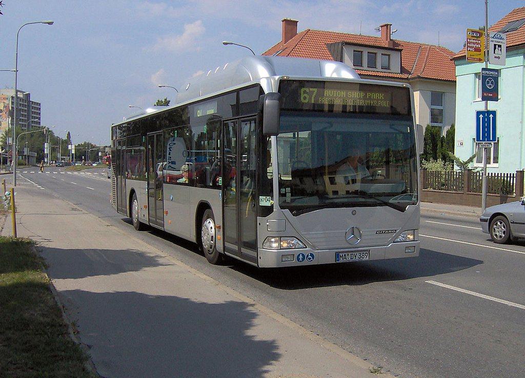 Fotogalerie » Mercedes-Benz Citaro CNG MA DY 389 2702 | Brno | Komárov | Hněvkovského