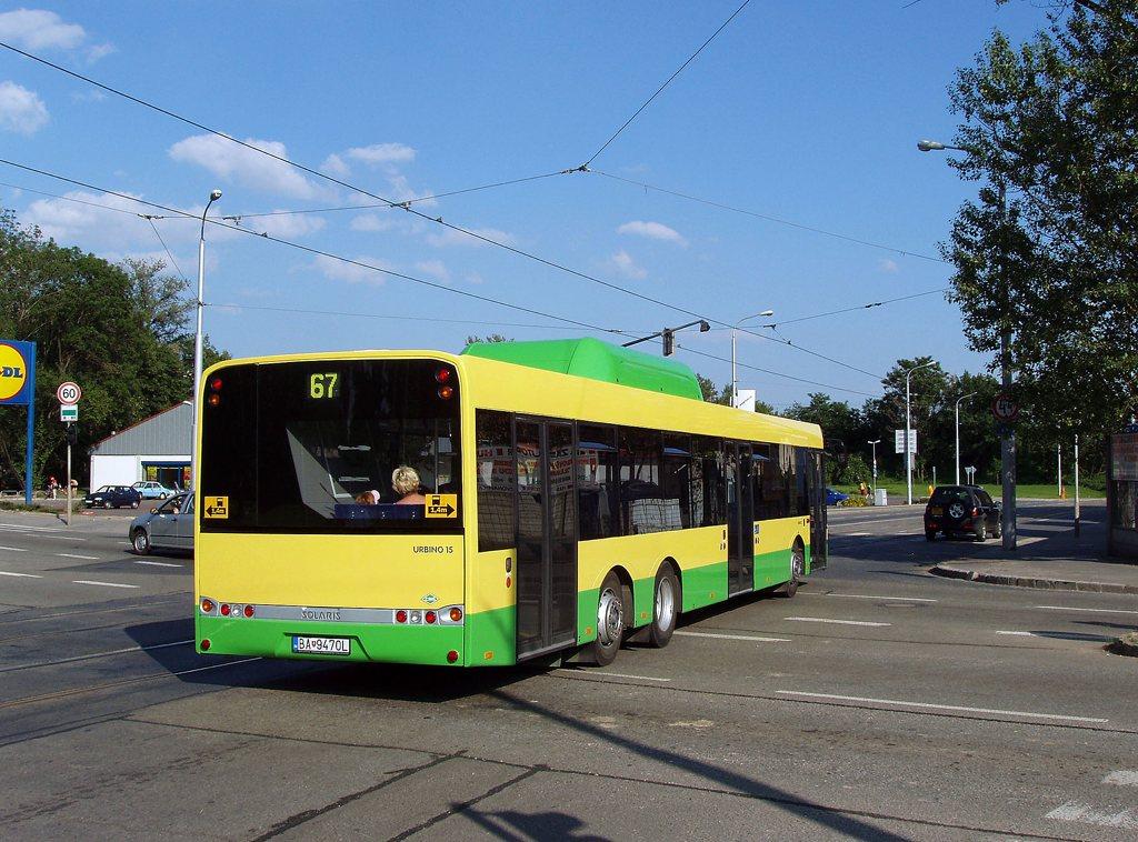 Fotogalerie » Solaris Solaris Urbino 15 CNG BA 9470L 2701 | Brno | Trnitá | Dornych