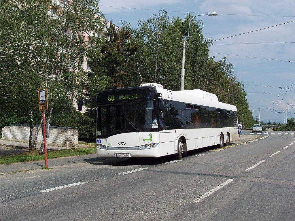 Fotogalerie » Solaris Solaris Urbino 15 CNG P4 8437 2701 | Brno | Kohoutovice | Žebětínská