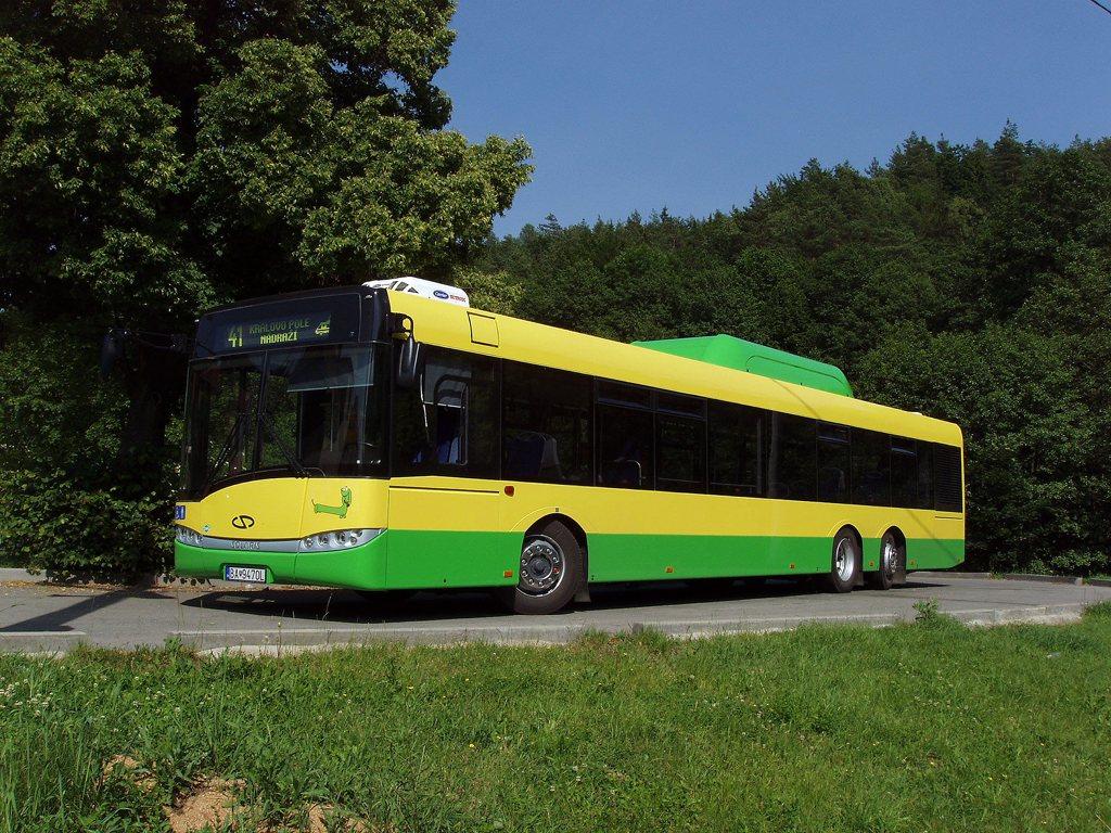 Fotogalerie » Solaris Solaris Urbino 15 CNG BA 9470L 2701 | Lelekovice