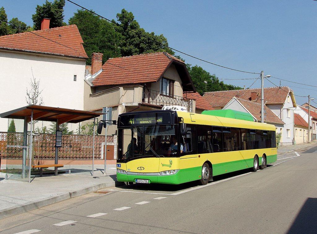 Fotogalerie » Solaris Solaris Urbino 15 CNG BA 9470L 2701 | Lelekovice | Lelekovice, náves