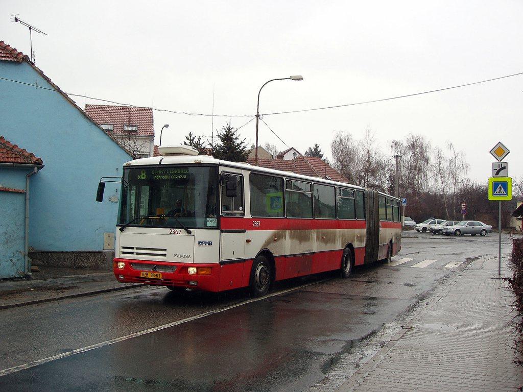 Fotogalerie » Karosa B961.1970 2367 | Brno | Starý Lískovec | Jemelkova