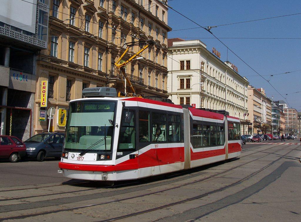 Fotogalerie » Škoda 03T6 1817 | Brno | střed | Benešova