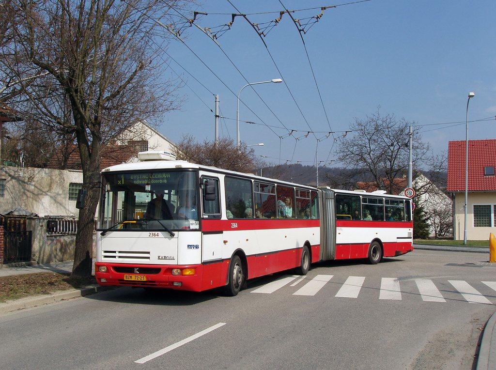 Fotogalerie » Karosa B961.1970 2364 | Brno | Komín | Branka