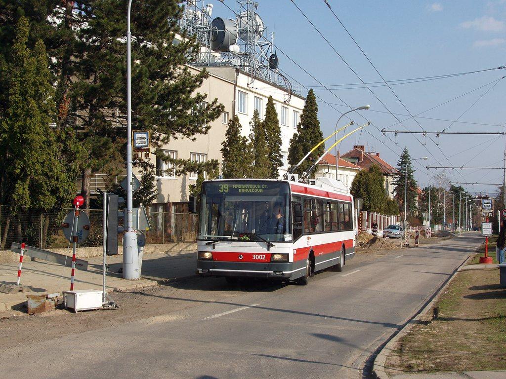 Fotogalerie » Škoda 21Tr 3002 | Brno | Masarykova Čtvrť | Barvičova | Soukopova