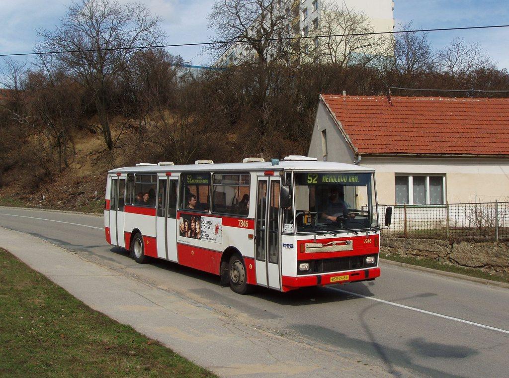 Fotogalerie » Karosa B732.1654 7346 | Brno | Kohoutovice | Žebětínská