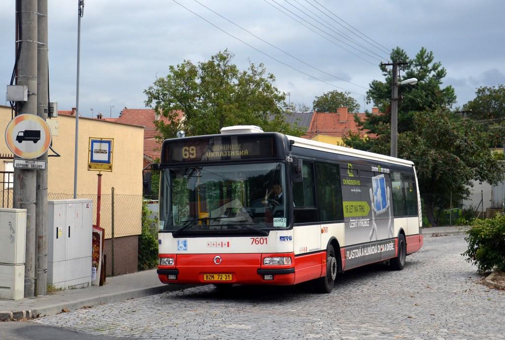 Fotogalerie » Irisbus Citybus 12M 2071.20 BZM 72-31 7601   Brno   Bosonohy   U smyčky   Bosonohy