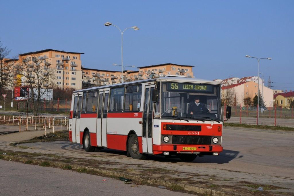 Fotogalerie » Karosa B732.1654.3 BSC 39-61 7389 | Brno | Líšeň | Trnkova | Zetor, smyčka