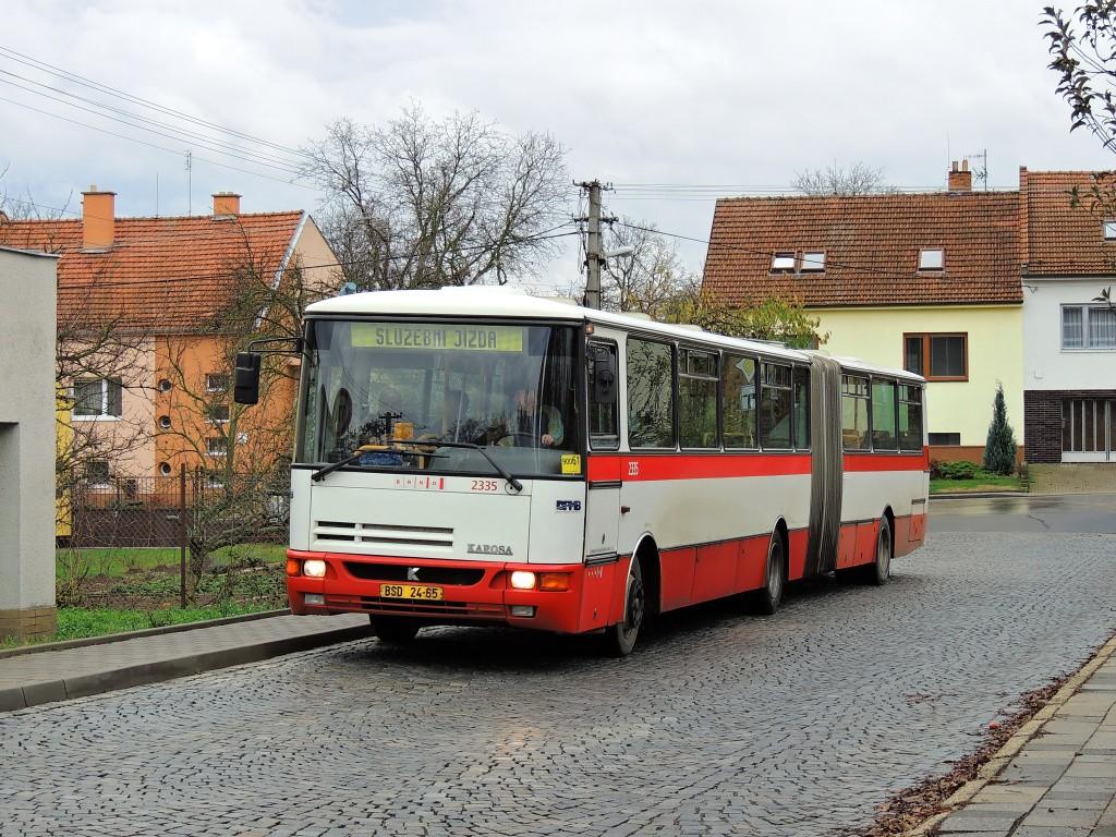 Fotogalerie » Karosa B941.1930 BSD 24-65 2335 | Brno | Bosonohy | U smyčky