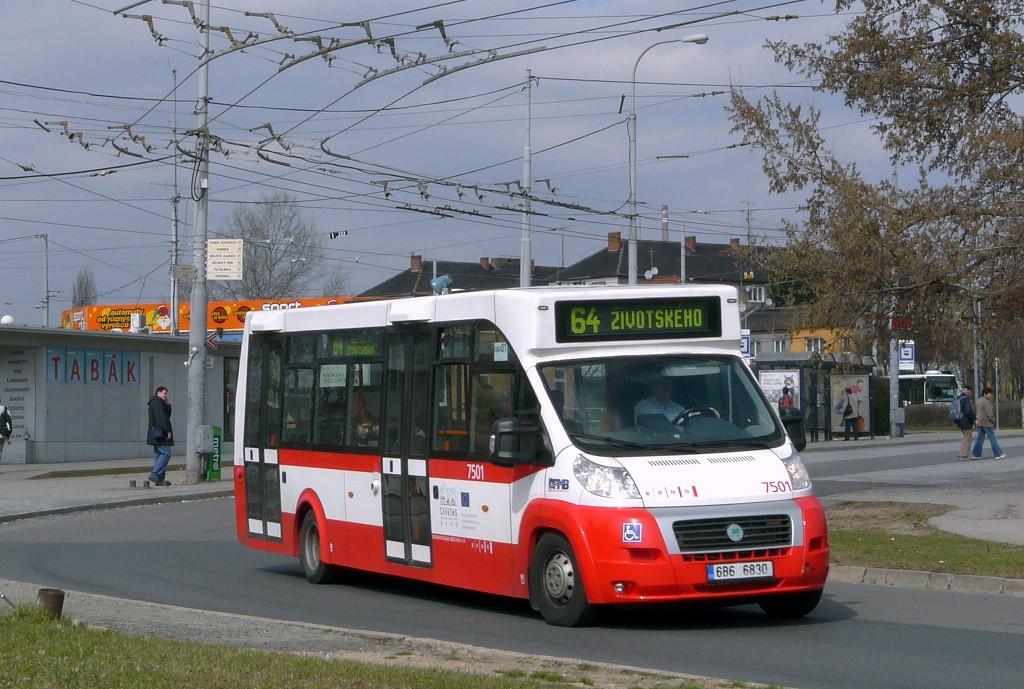 Fotogalerie » MAVE-Fiat CiBus ENA MAXI 6B6 6830 7501   Brno   Židenice   Stará Osada