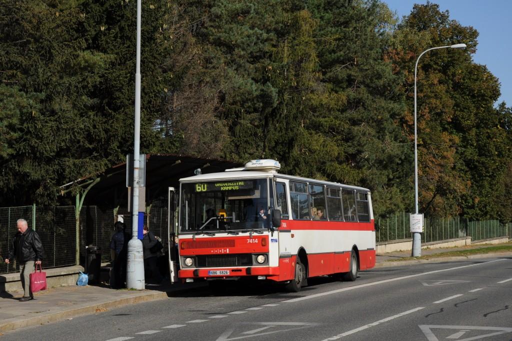 Fotogalerie » Karosa B731.1669 6B6 6826 7414   Brno   Bohunice   Jihlavská   Stará nemocnice