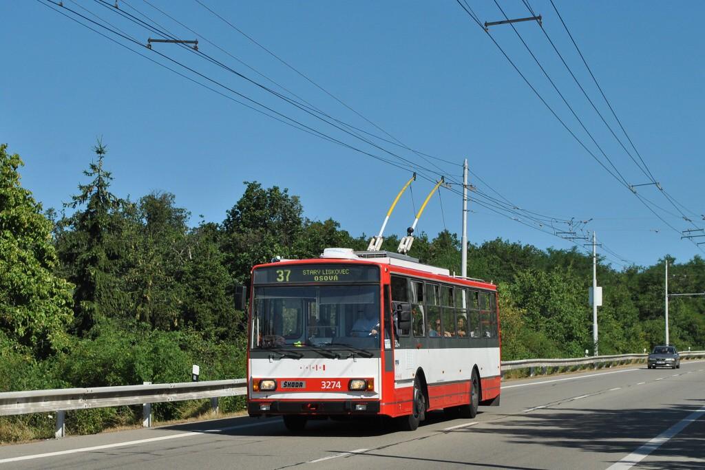 Fotogalerie » Škoda 14Tr17/6M 3274 | Brno | Nový Lískovec | Chironova