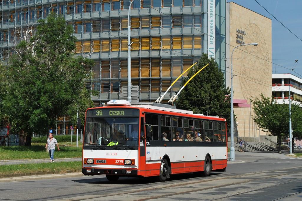 Fotogalerie » Škoda 14TrR 3275 | Brno | střed | Kounicova