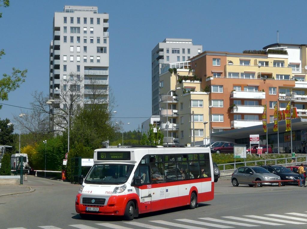 Fotogalerie » MAVE-Fiat CiBus ENA MAXI 6B6 6828 7503   Brno   Lesná   Okružní