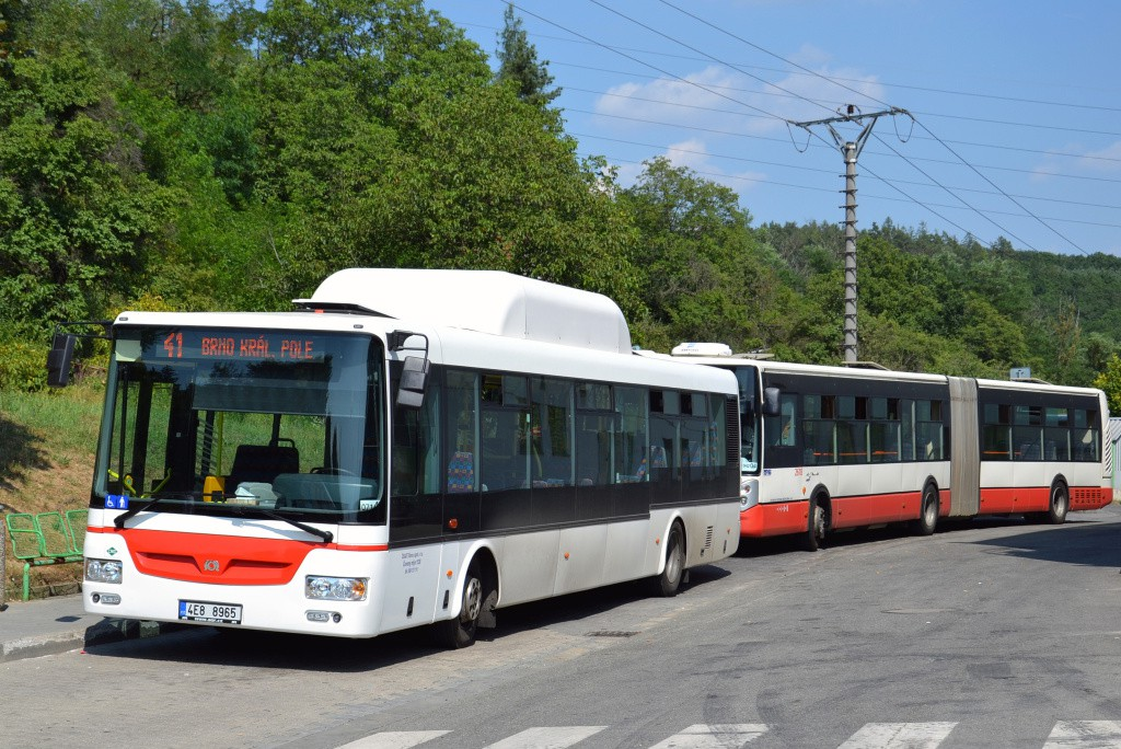 Fotogalerie » SOR NBG 12 4E8 8965 | Irisbus Citelis 18M 6B2 2460 2618 | Brno | Ivanovice | Maříkova | Ivanovice, Globus
