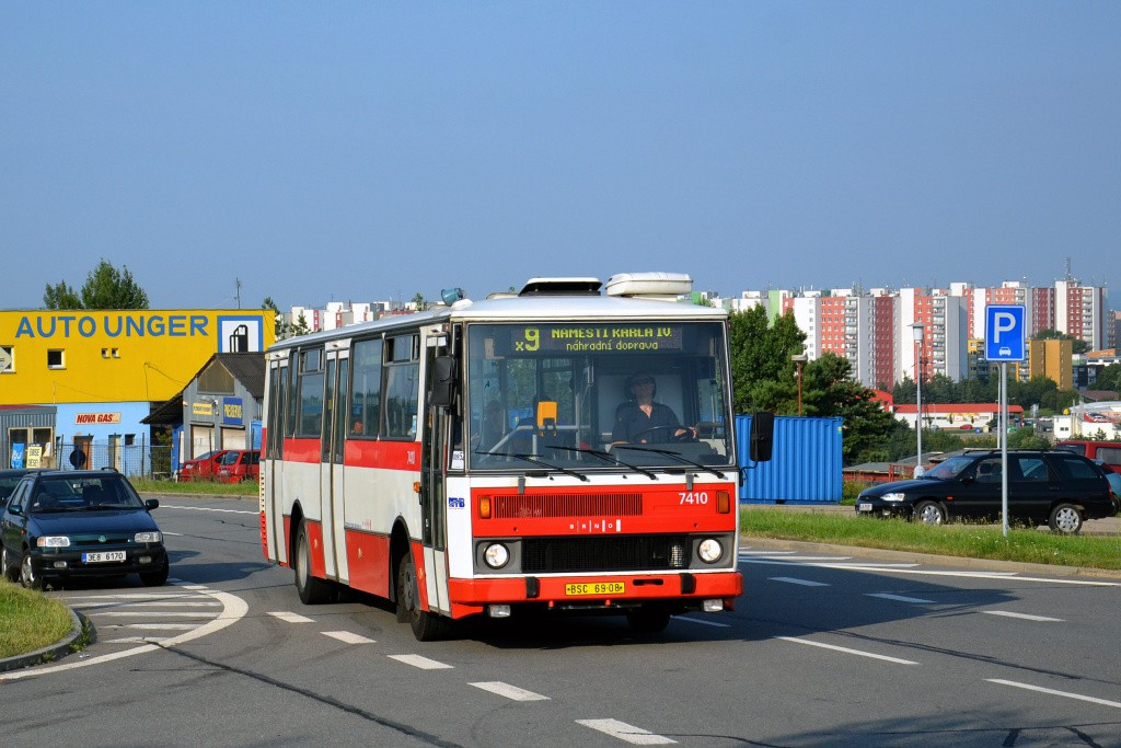 Fotogalerie » Karosa B731.1669 BSC 69-08 7410 | Brno | Líšeň | Podruhova | Elplova