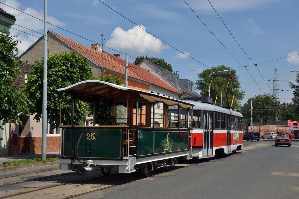 Fotogalerie » ČKD Tatra T3M 1584 | vp1 25 | Brno | Husovice | Dačického