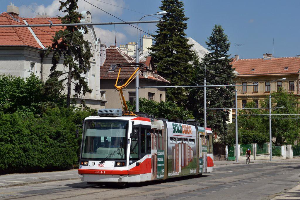 Fotogalerie » Škoda 03T6 1810   Brno   střed   Údolní   Všetičkova