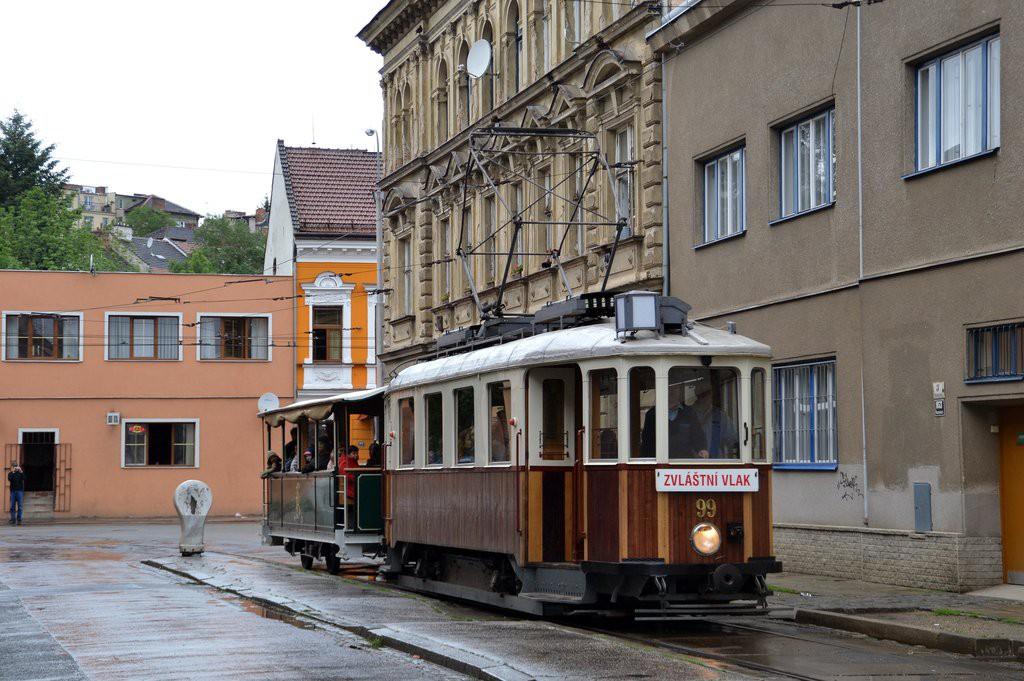 Fotogalerie » KPS Brno + SBEPD mv6.2 99 | Graz / Ödenburg vp1 25 | Brno | Husovice | Mostecká | Mostecká