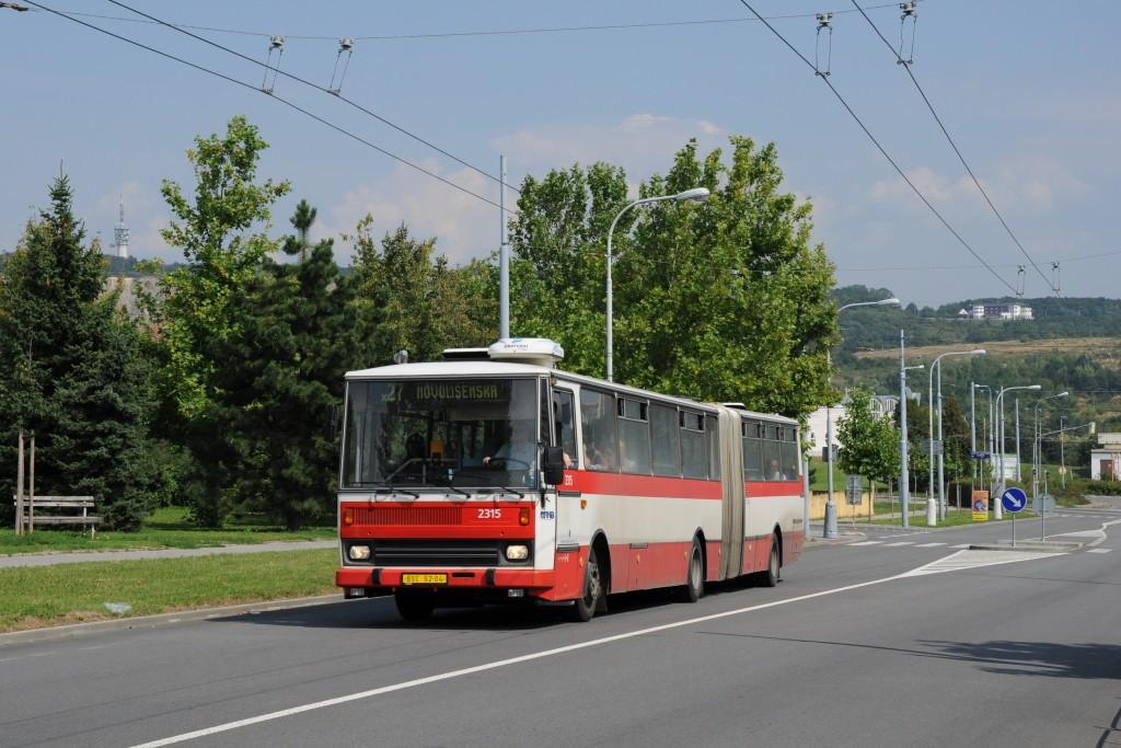 Fotogalerie » Karosa B741.1924 BSC 62-04 2315 | Brno | Vinohrady | Bzenecká
