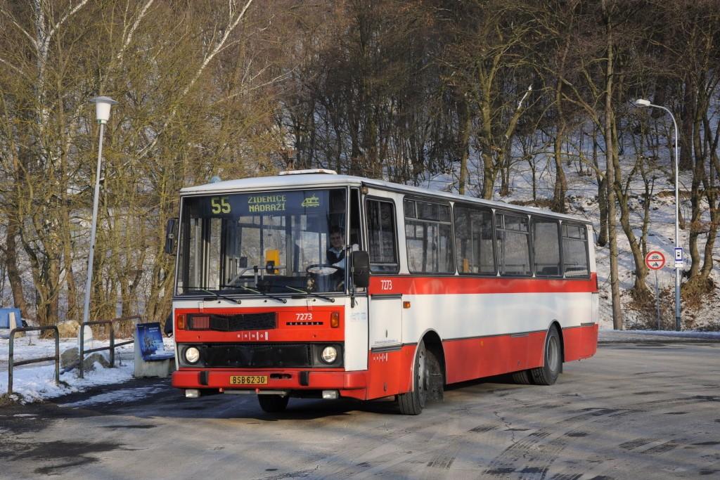 Fotogalerie » Karosa B732.40 BSB 62-30 7273 | Brno | Líšeň | Mariánské údolí