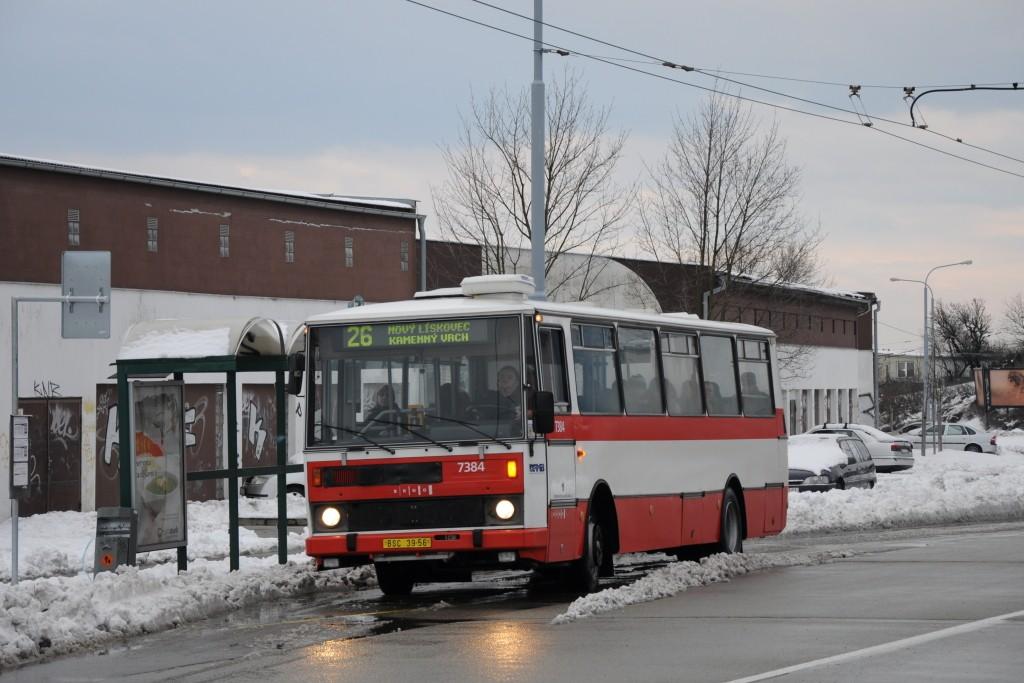 Fotogalerie » Karosa B732.1654.3 BSC 39-56 7384 | Brno | Vinohrady | Věstonická | Mutěnická