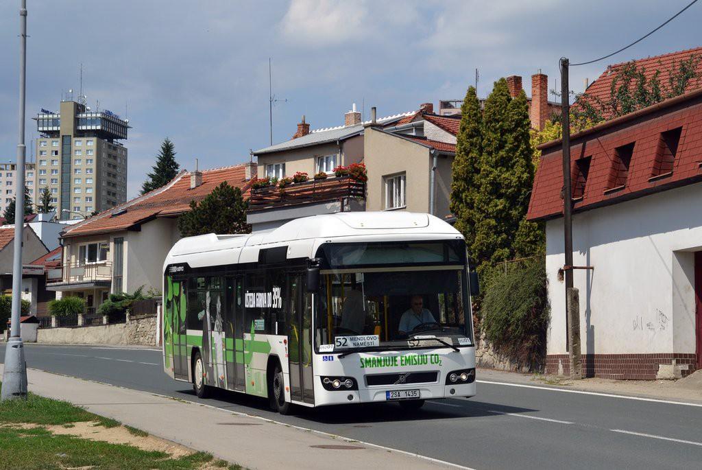 Fotogalerie » Volvo 7700LH 2SA 1435 2714 | Brno | Kohoutovice | Žebětínská