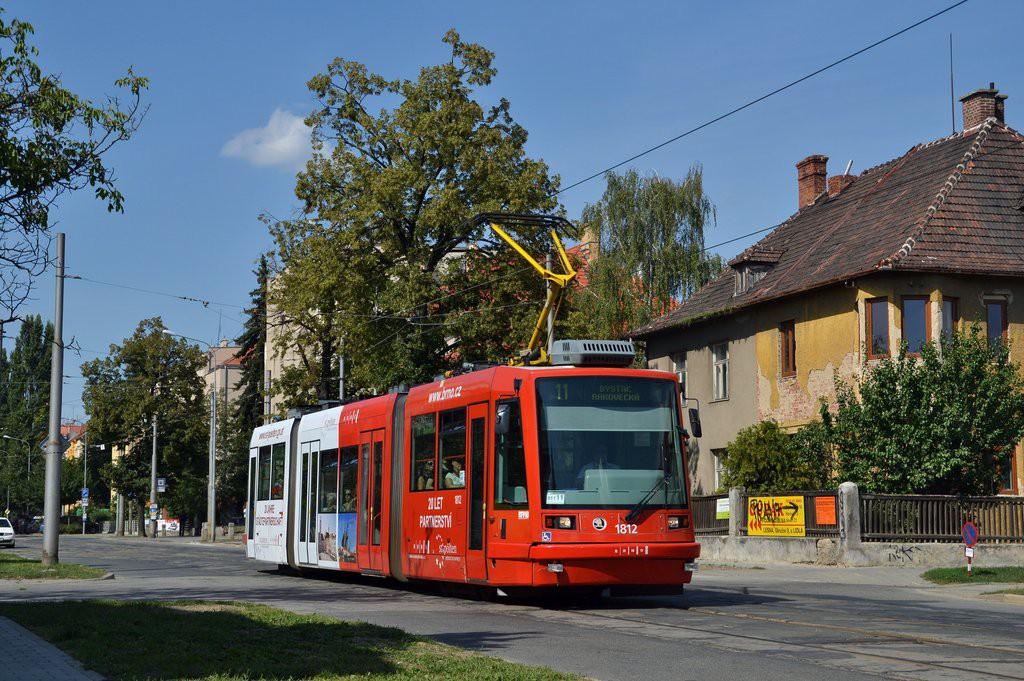 Fotogalerie » Škoda 03T6 1812   Brno   Černá Pole   Lesnická