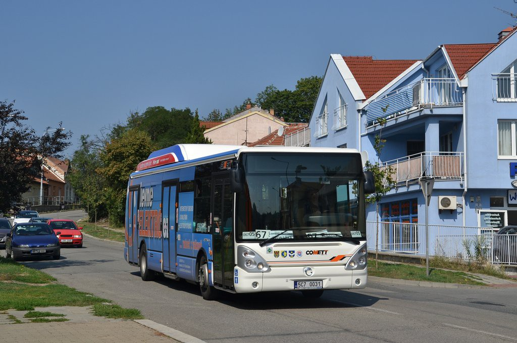 Fotogalerie » Irisbus Citelis 12M CNG 5C7 0031 2715 | Brno | Žabovřesky | Štursova