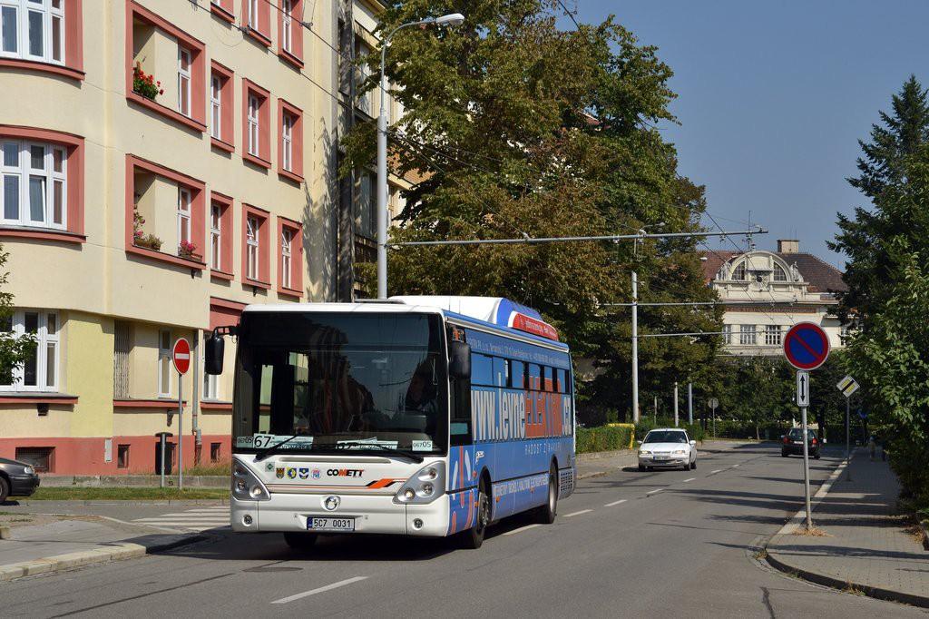 Fotogalerie » Irisbus Citelis 12M CNG 5C7 0031 2715 | Brno | Královo Pole | Charvatská