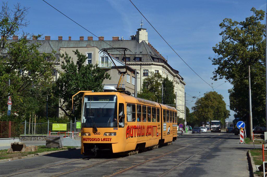 Fotogalerie » ČKD Tatra K2R03 1060 | Brno | Černá Pole | Lesnická