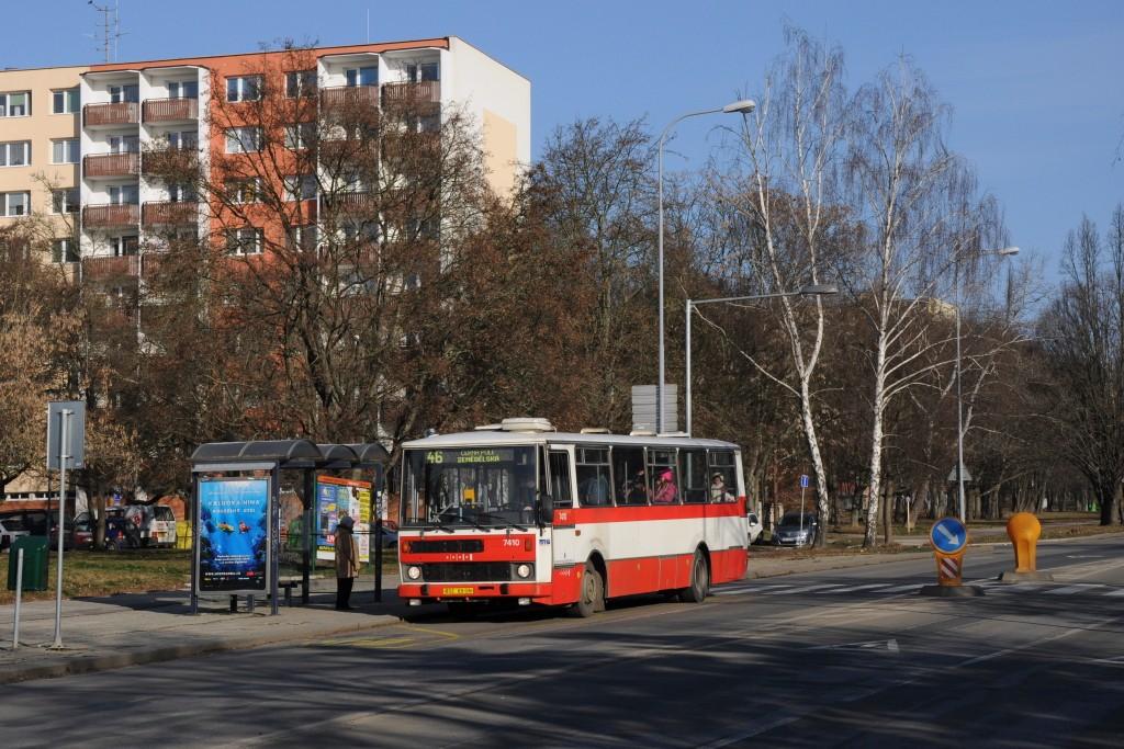 Fotogalerie » Karosa B731.1669 BSC 69-08 7410 | Brno | Lesná | Seifertova | Heleny Malířové