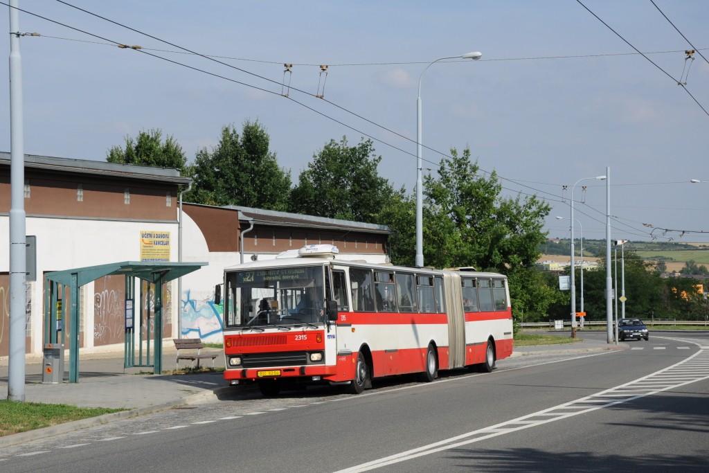 Fotogalerie » Karosa B741.1924 BSC 62-04 2315   Brno   Vinohrady   Věstonická   Čejkovická
