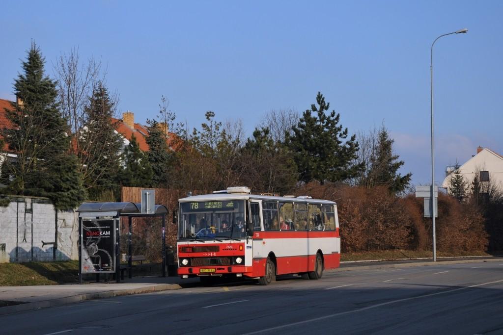 Fotogalerie » Karosa B732.1654.3 BSC 38-64 7376 | Brno | Líšeň | Novolíšeňská | Velká Klajdovka