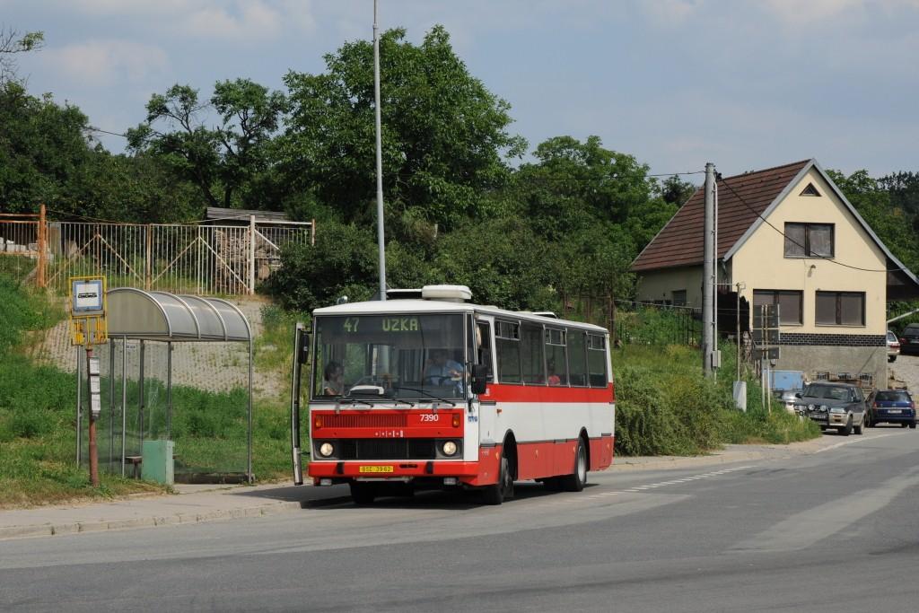 Fotogalerie » Karosa B732.1654.3 BSC 39-62 7390 | Brno | Černovice | Vinohradská | Hájecká