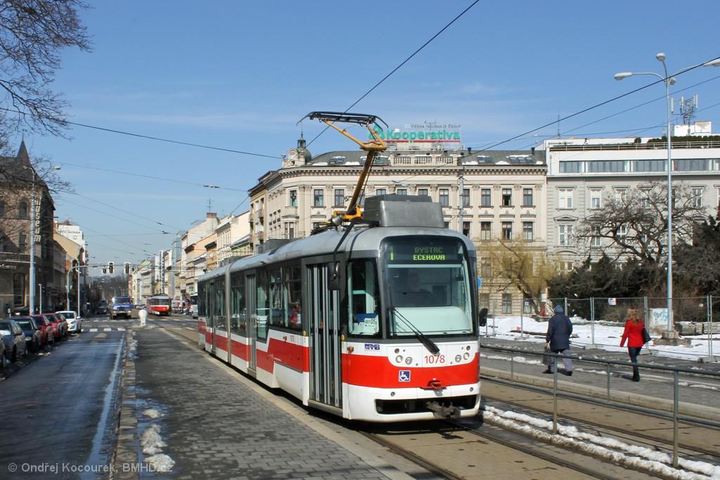 Fotogalerie » Pragoimex VarioLF2R.E 1078 | Brno | střed | Moravské náměstí | Moravské náměstí