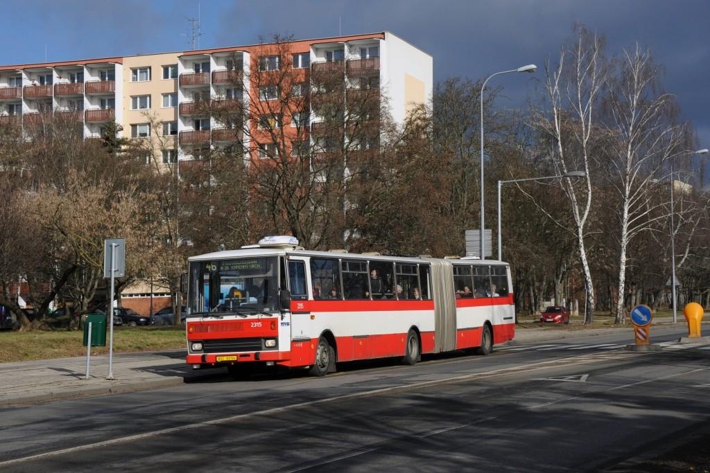 Fotogalerie » Karosa B741.1924 BSC 62-04 2315 | Brno | Lesná | Seifertova | Heleny Malířové