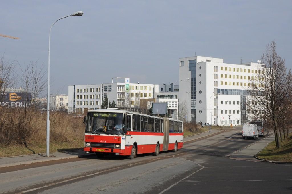 Fotogalerie » Karosa B741.1916 BSC 28-97 2301 | Brno | Královo Pole | Kolejní | Edisonova
