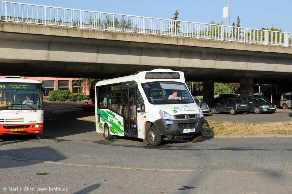 Fotogalerie » Iveco Stratos E 30 3AI 3132 | Brno | Královo Pole | Královo Pole, nádraží
