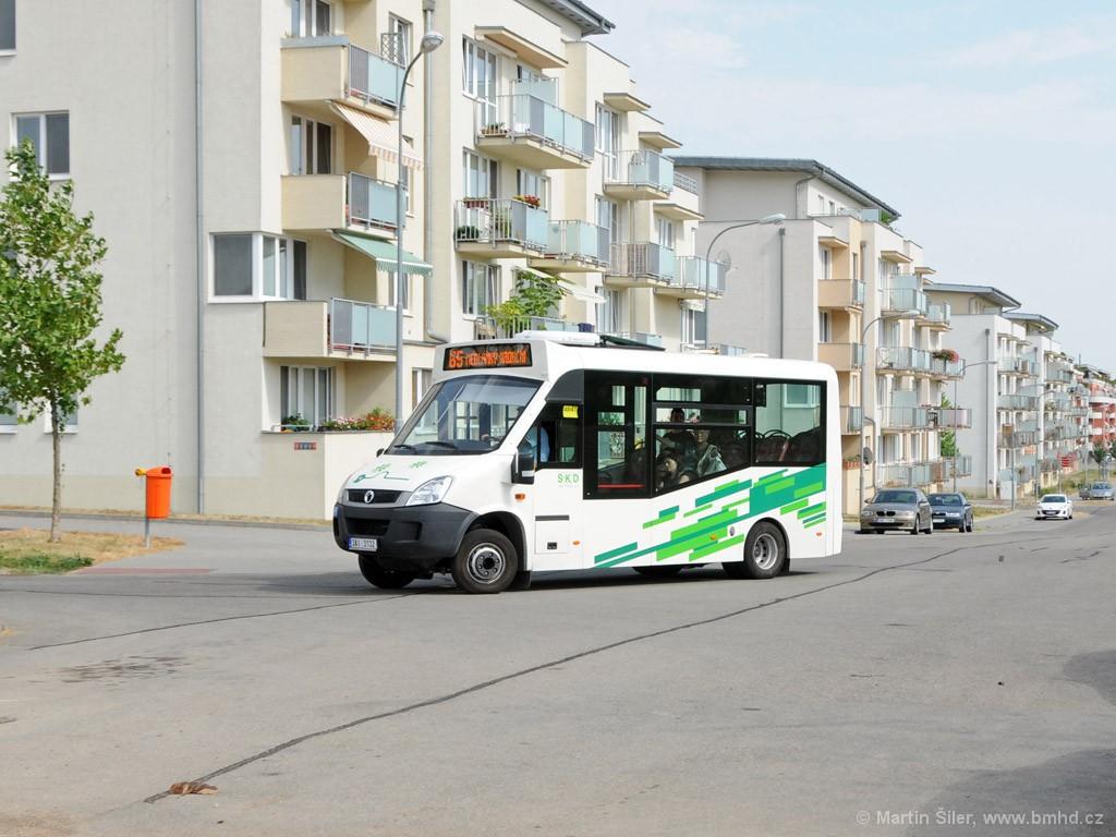 Fotogalerie » Iveco Stratos E 30 3AI 3132 | Brno | Medlánky | V Újezdech