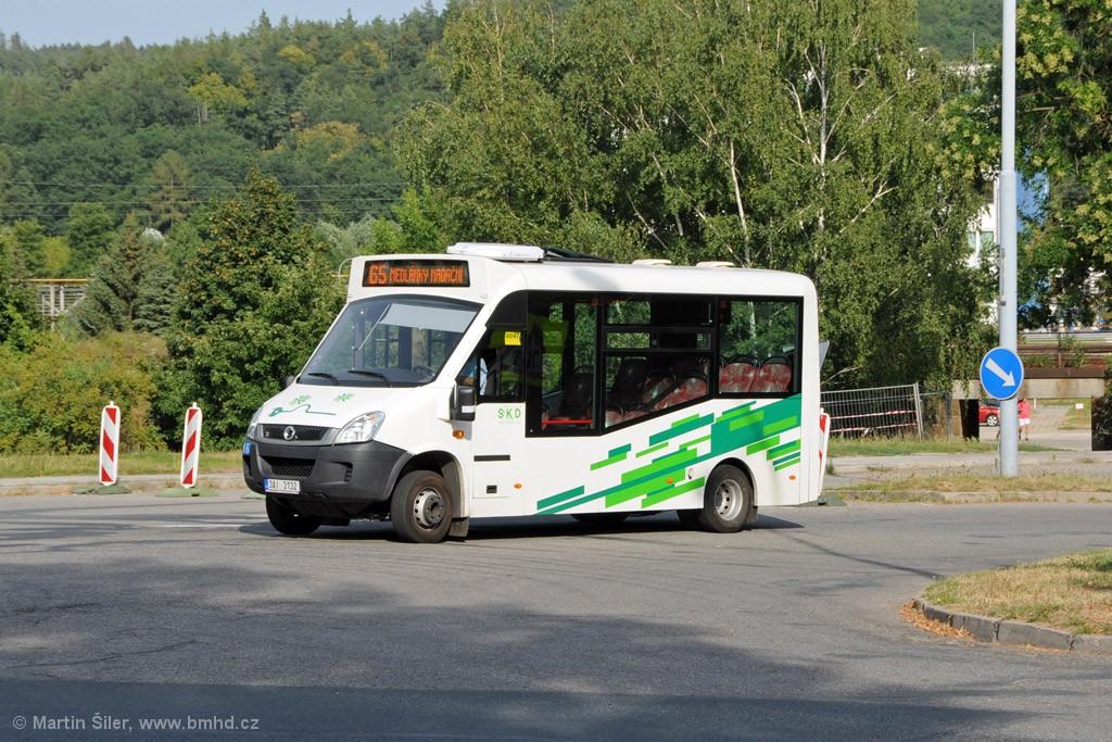 Fotogalerie » Iveco Stratos E 30 3AI 3132 | Brno | Řečkovice | Gromešova